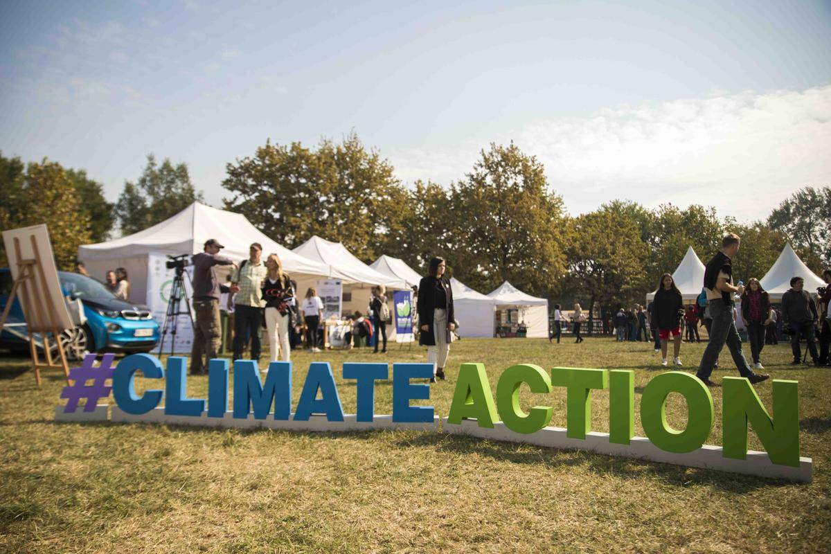 Климатско село и Еко оаза Блок 19а 2018